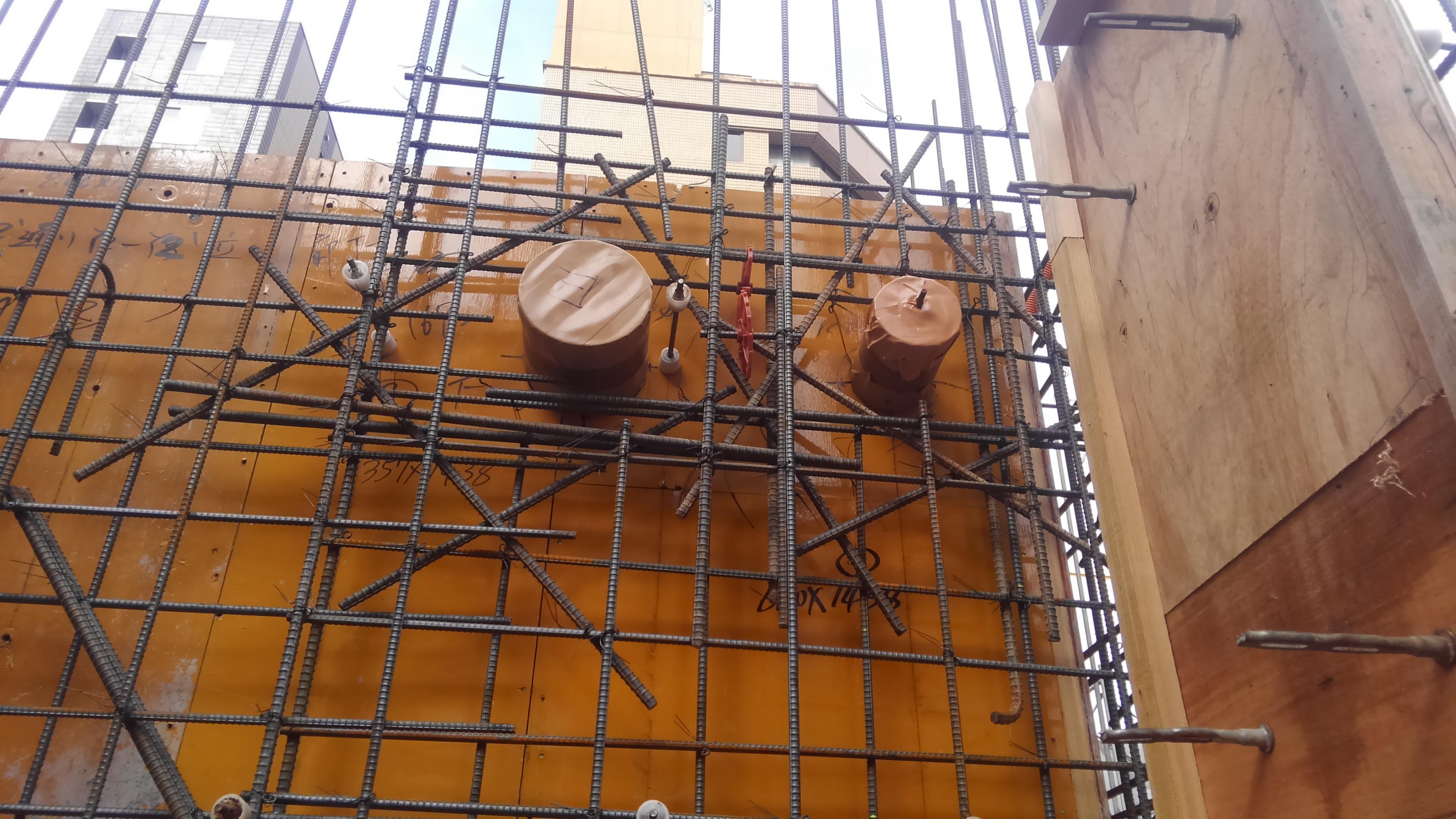 打ち込み配管 電気工事 広島